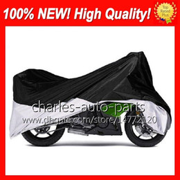 Wholesale rain weave - 20 Colors Universal NEW Anti-UV Rain Wind Snow Waterproof Motorcycle Cover Moped Scooter Bike Cover Protector Covering Motorbike Moto Covers