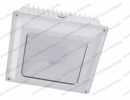 Wholesale Led Driver 45w - NEW 45W 75W DLC Gas Station lighting Led Low Canopy light industrial factory downlight smd Chips And UL driver 110lm W MYY