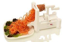 Wholesale Veggie Shredder - Spiralizer 3-Blade Vegetable Slicer, Strongest-and-Heaviest Duty, Best Veggie Pasta Spaghetti Maker for Low Carb Paleo Gluten-Free Meals,