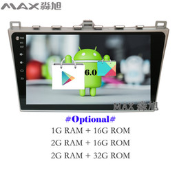 Wholesale Map Mazda - Android 6.0 Car DVD Player for MAZDA6 MAZDA 6 with Radio DAB+ BT WIFI 3 4G SWC GPS free map Mirror Link