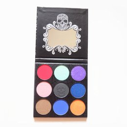 Wholesale Matte Foil - Brand New Twilight 9 colors Eyeshadow Palette Matte Foiled Powder Eye Shadow makeup palettes Shimmer Diamond Foiled Colors Makeup Palette