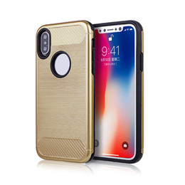Wholesale Simple Designs Phone Cases - For Iphone X 7 7plus samsung note 8 tpu pc best seling products shockproof simple fashion business scratch-resistant design phone case