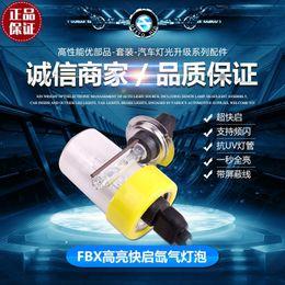 Wholesale Xenon Volkswagen - New FBI 12V 55W Xenon HID bulb More Bright lumens for Car Auto Headlight Light H1, H3, H9 H11 9005, 9006 HID 6000K