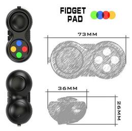 Wholesale 11 Toy Pad - Fidget Cube NEW Anti Stress Gift Hand Puzzles & Magic Pad Fidget toys Focus Keep Kid Toy and ADHD EDC Anti Stress Toys 5pcs