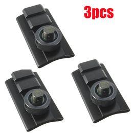 Wholesale Wholesale Bipod - 3pcs Bipod Adapter Swivel Stud Picatinny Slot Adaptor Kit Weaver Rail Slot Sling