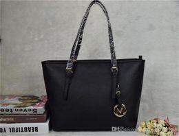 Wholesale Designer Brand Purse Handbags - famous brand fashion women bags MICHAEL KALLY MK lady PU leather handbags famous Designer brand bags purse shoulder tote Bag female 6821