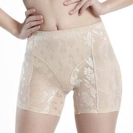 Wholesale Control Knickers Shapewear - Good Quality Women Mid Waist Padded Underwear Bum Butt Hip Enhancer Panties Sexy Knickers Shapewear Asian Size M-4XL XF0057