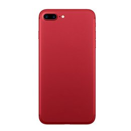 Wholesale English Stock - red in stock! goophone I7 plus Quad core 5.5inch MTK6580 1GB 4GB+32GB 3g phone fake 4G lte unlocked phone vs S8 note7