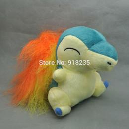 "Wholesale Pokemon Plush Cyndaquil - Wholesale- Free Shipping Cyndaquil 6"" Poke doll Plush Doll Cute"