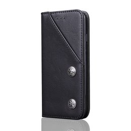 Wholesale Iphone Magnet Wallet Cases - For iPhone 7 6s 6 7Plus 6sPlus 6Plus Wallet Case Luxury Leather Magnet Flip Phone Case Coque Fashion iphone Cover With Card Holder