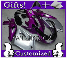 Wholesale Motorcycle Cowl Yamaha - Injection mold purple motorcycle cowl for Yamaha YZF1000R 1996-2007 96 97 98 99 00 01 02 03 04 05 06 ABS Plastic Fairing