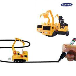 2019 электрическое крыло rc Мини волшебная ручка автомобиля Machineshop грузовик индуктивный Фангл Vechicle игрушки Детский грузовик Автомобиль игрушки автомобили с розничной коробке