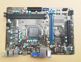 Wholesale X Ps2 - MSI B75MA-E33 B75 Motherboard LGA1155 Socket1155 W  IO Shield mATX PCIE3.0 X16 USB3.0