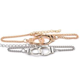 Wholesale freedom alloys - Freedom Handcuffs Bracelets For Women Fashion Carved FREEDON Couples lock Bracelets & Bangles Drop Ship 160575