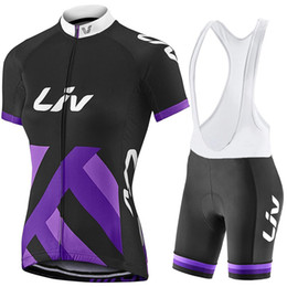 Wholesale women bike clothing - 2017 Liv Cycling Jerseys women cycling clothes bicycle pink breathable bike jerseys Mountain bike racing Mtb sport clothing