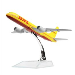 Wholesale air planes - New hot sale Dhl B757-200 , Dhl-sinotrans 16cm airplane models child Birthday gift chiristmas gift air plane models Free Shipping
