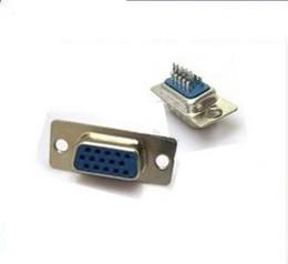 Pino de solda on-line-50 pçs / lote A nova cabeça de solda cabeça de soldagem VGA 15-hole VGA 15 pinos conector fêmea cabeça de montagem