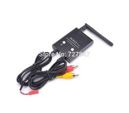 Wholesale Remote Control Wireless Av - Remote Control Parts Accs 5.8G 600mw 5km Wireless AV Transmitter TS832 Receiver RC832 Plus for FPV