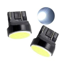 Wholesale W21w Led - T20 7443 W21W-3W COB 12SMD LED Brake Light Turn Signal Bulb Parking Lamp 12V