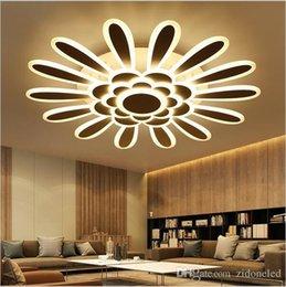 Canada Modern Minimalism Led Ceiling Lights For Living Room Bedroom Lamparas De Techo White Dimming
