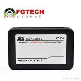 Wholesale Galletto Usb - V54 FGTech Galletto 4 Master BDM-TriCore-OBD Function FG Tech V54 VD300 ECU Programmer Multi-langauge