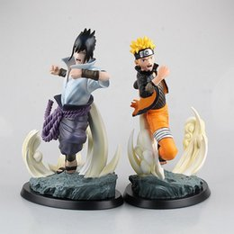 Wholesale Mario Toys Collection - Anime Figure 27 CM TSUME Naruto Uzumaki sasuke uchiha Naruto Limited Edition Statue PVC Action Figure Resin Collection Model Toy