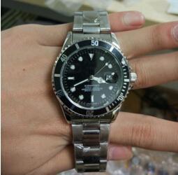 Wholesale Luxury Quartz Watch Men Strap - Hot luxury fashion brand automatic date mens wristwatch women stainless steel strap belt movement men's dress quartz clock men watch