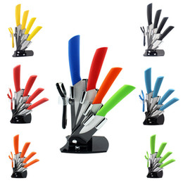 """Wholesale Home Utilities - Home Kitchen Knives Ceramic Knife and Fruit Knife Set Peeler Utility Chef 3"""" 4"""" 5"""" 6"""" inch with Dining Bar"""
