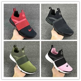 Wholesale Cheap Sports Tops For Women - 2017 Top quality Airs Presto Extrem GS Women Men Running Shoes for Cheap Sale Army Green Fashion Casual Walking Sports Sneakers Size 36-45