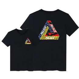 Wholesale Wholesale Clothing Tshirts For Men - Wholesale- Asia Size Skateboards Brand Palace Tshirts Men Good Quality Cotton T shirt Men and Women Skate Clothing,Palace T-shirt For Man