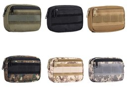 Argentina Tactical Pocket Organizer EDC Hunting Pack Bolsa de herramientas Pequeño Ejército Utility Field Misceláneas Bolsa Suministro