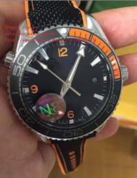 Wholesale Cal Watches - latest version Luxury Brand Watch N8 Factory 42mm Planet Ocean Co-Axial 600M 215.32.44.21.01.001 CAL.8500 Movement Automatic Mens Watches