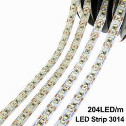 2019 metro 5m LED 3014 LED / meter DC12V impermeabiliza la luz flexible brillante estupenda blanca del blanco 5m / lot de las luces de la Navidad rebajas metro 5m