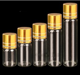 Wholesale Glass Bottles For Liquid Cosmetics - 5ml 10ml 20ml Glass Bottle E-liquid Perfume Glass Bottle Free Sample Jar for Cream Cosmetic Make-up Container