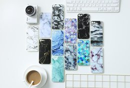Wholesale Iphone Cases Sellers - Best Sellers phone shell marble painted phone shell relief soft shell TPU creative art mobile phone sets