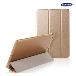 Wholesale Smart Cover Ipad2 White - Silk Skin Smart Cover Case for iPad Mini 1 2 3 Air1 2 iPad2 3 4 Pro9.7 Ultral Slim PU Leather Stand