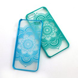 Wholesale Cheapest Iphone Bag - Cheapest Flower Phone Case Iphone 7 Soft TPU CaseBeautiful Floral Henna Paisley Mandala Palace Flower Phone Cases with OPP bag