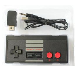 Deutschland Wireless Controller für NES CLASSIC MINI Bluetooth Joysticks Gamepad Controller mit Wrireless Receiver für IOS Android PC Versorgung