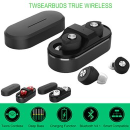 Wholesale Wireless Headsets For Laptops - Tws mini T8 Wireless Headphone Bluetooth Earphones Earbud Stereo Headset Auriculares Bluetooth 4.1 Dual Ear For Laptop Mobile iphone samsung
