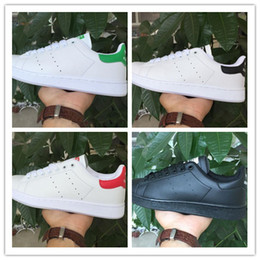 Wholesale Color For Body - 2017 50 Years Classic style Stans Smith Shoes for men womenRunning Shoes 36-45 White Green color musial Stanly Smith Skateboarding Shoes