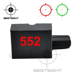 Wholesale 552 Red Dot Sight - 552 Holographic Sight Reflex Sight Red Dot Optics Rifle Scope Sniper Scope For Airsoft Air Guns With 20mm Rail