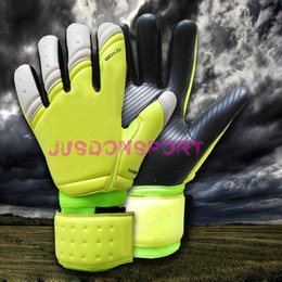 Wholesale Jusdon Allround Latex without fingersave Soccer Professional Goalkeeper Gloves Goalie FootballBola De Futebol Gloves Luva De Goleiro