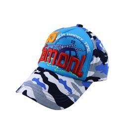 2019 cappello da crochet del fiore del beanie della ragazza Cappello per bambini primaverili e autunnali, linguetta d'anatra mimetica, cappello da sole, ragazzo, ragazza, bambino, berretto da baseball