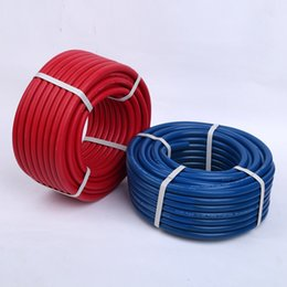 Wholesale Oxygen Acetylene Rubber Hose Corrugated Surface Multiple Fiber Braid Gas Welding Cutting single line hose tube