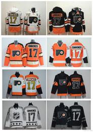 Wholesale Ice Hockey Hoodies - Top Quality ! Stadium Series Philadelphia Flyers 17 Wayne Simmonds Ice Hockey Jerseys All Star Simmonds Hoodies Stitched Winter Classic