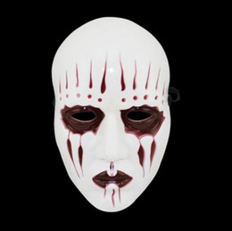 Wholesale Unique Themes - Slipknot Band Joey Mask Unique Evil Theme Party Masks Horror Halloween Fancy Dress Cosplay Props adults full face mask favors