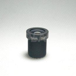 Wholesale Ir Camera 8mm Lens - 8mm 5MP Lens CCTV IR Board camera Lens M12 mount F2.0 for Security IP Camera