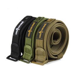 Wholesale Service Camps - Wholesale- POINT BREAK Outdoor Camping tactical nylon belt 1.5 inches secret service belt leisure environmental protection durable belt