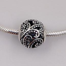 Freiheitszauber online-Freedom Essenz Charms aus 925 Sterling Silber Fit europäischen Stil Marke Armbänder Halsketten ALE 796012 Perlen für Schmuck machen