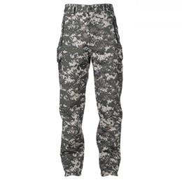 Wholesale Camouflage Acu - Wholesale- SAF-Lurker Shark skin Soft Shell Camouflage Waterproof Mens Pants ACU